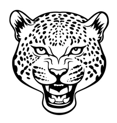 Tribal jaguar vector