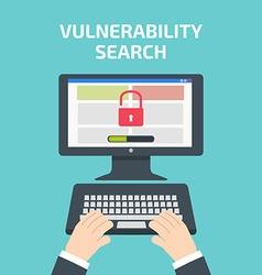 Vulnerability search decktop vulnerability search vector