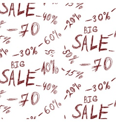 Big sales background vector