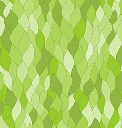 Abstract green leafs seamless texture vector