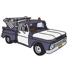 Breakdown service car vector