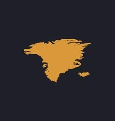 Alaska computer symbol vector image