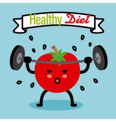healthy diet vector image