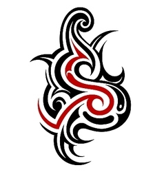 Tribal font s vector
