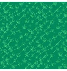 Algae seamless pattern vector