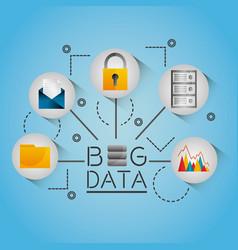 Big data information streams network vector
