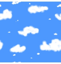 Clouds Seamless Texture vector image vector image