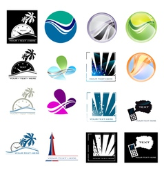 different designs vector image