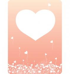 heart copy vector image vector image