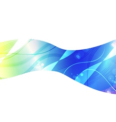 Abstract Blue light background for design vector image