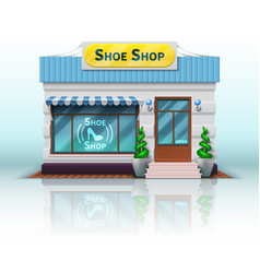Different store iconrealistic shoe shop vector