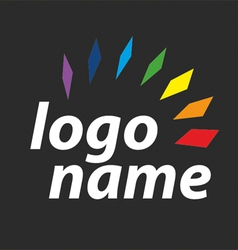 Logo spectrum vector