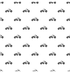 Motobike pattern simple style vector