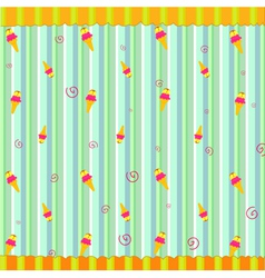 retro funky background vector image vector image