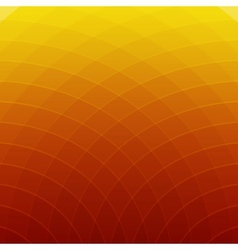 Abstract orange and yellow round lines background vector