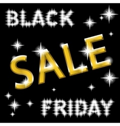 sale black friday vector image