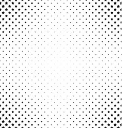 Black and white pentagram star pattern vector
