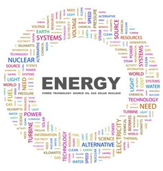 ENERGY vector image vector image