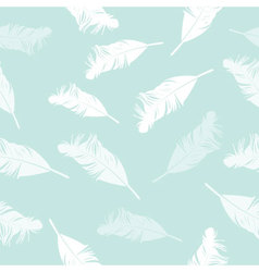 feather seamless background vector image vector image