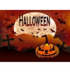 Halloween holiday vector image vector image
