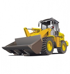 loader front vector image