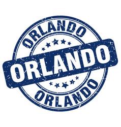 Orlando stamp vector