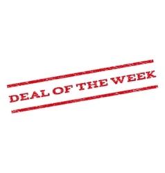 Deal of the week watermark stamp vector