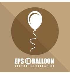 Balloon air vector