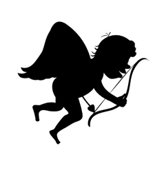 Cupid arrow path vector