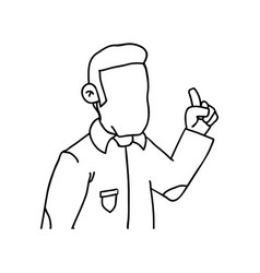 Guy cartoon draw vector