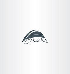turtle logo icon element vector image vector image