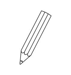 Normal pencil icon image vector