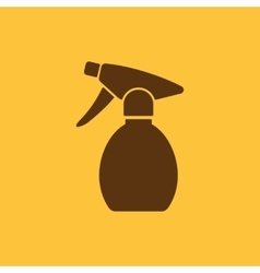 The sprayer icon Atomizer symbol Flat vector image