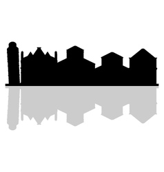 Pisa skyline vector