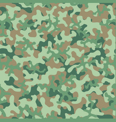 Camouflage pattern seamless background vector
