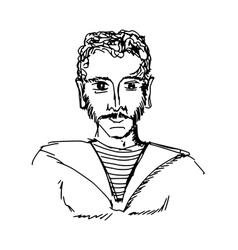 seaman vector image