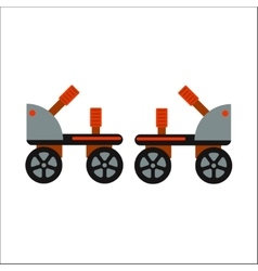 Rollers boot icon isolated vector image
