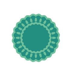 halal islamic template symbol east ornament for vector image