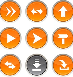 Arrows icons vector