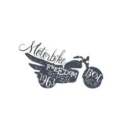 Best ride black and white vintage emblem vector