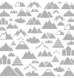 Mountain a background vector