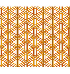 traditional japanese ornament kumiko zaiku vector image vector image