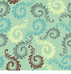 Fern seamless pattern vector