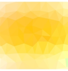 Mosaic Yellow Background vector image vector image