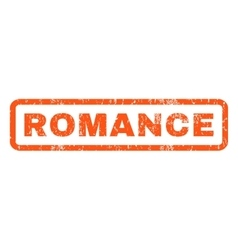 Romance rubber stamp vector