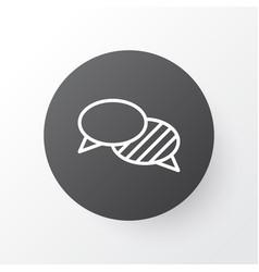 Conversation icon symbol premium quality isolated vector