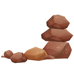 Rocks vector image