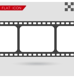 Film strip with space for your text vector