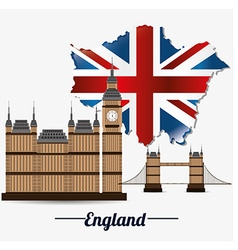 UK london design vector image vector image
