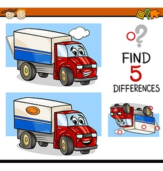 Task of finding differences vector